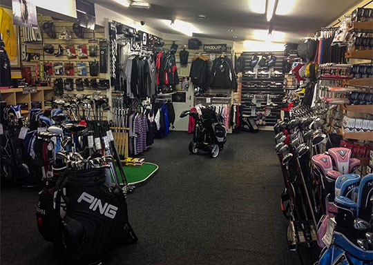 Golf Shop at Rhos-on-Sea Golf Club