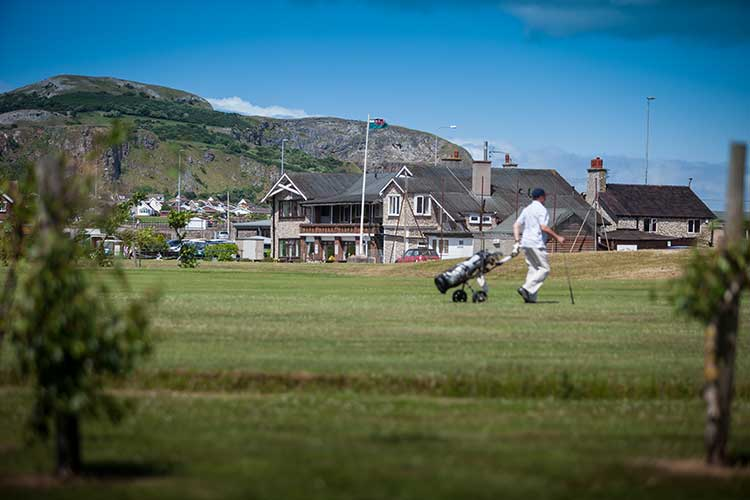 Rhos-on-Sea Golf Club house