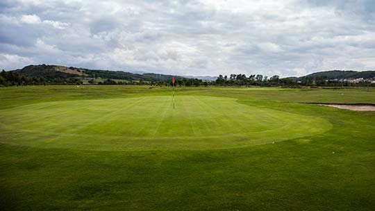 12th Hole at Rhos-on-Sea Golf Club