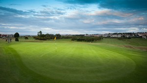 Hole 5 at Rhos-on-Sea Golf Club in North Wales